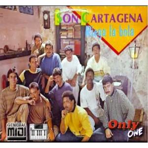 El Rey de la Cumbia - Son Cartagena - Midi File (OnlyOne)