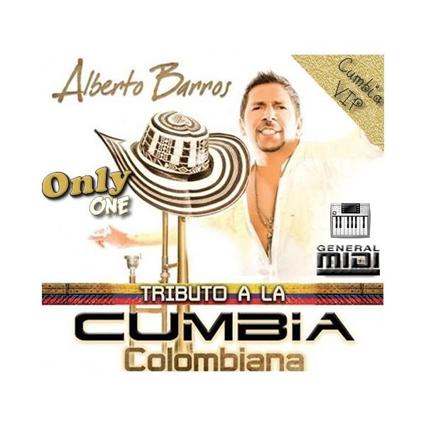 Tributo A La Cumbia Colombiana - Alberto Barros - Midi File (OnlyOne)